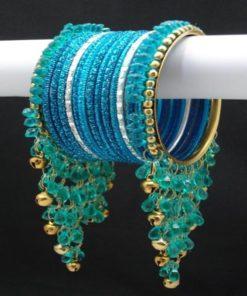 Bracelet 1 - Ensemble 3 pièces comprenant le collier avec pierres blanches scintillantes et jolies boucles d'oreilles