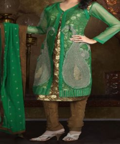 Shuridar 10 - Ensemble trois pièces comprenant la tunique (manches longues), le pantalon et le châle.