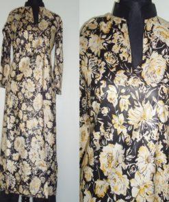 Shuridar 4 - Ensemble trois pièces comprenant la tunique (manches longues), le pantalon et le châle.