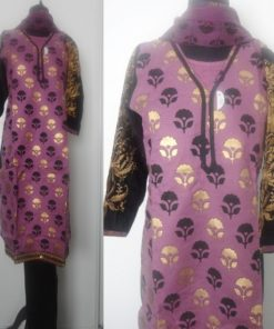 Shuridar 8 - Ensemble trois pièces comprenant la tunique (manches longues), le pantalon et le châle.